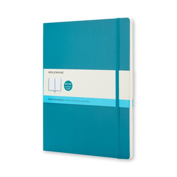 Moleskine Soft Cover Ruled Notebook in Turquoise | Napa Bookmine
